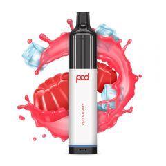 PodStick 3500 Disposable - Red Gummy - 1