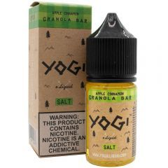 Apple Cinnamon Granola Bar 30mL by Yogi Salt E-Liquid