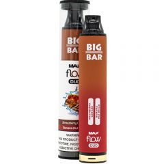 Big Bar Max Flow Duo Disposable - Banana Nut Bread & Strawberry Custard
