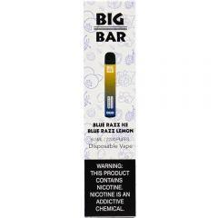Big Bar Duo Disposable - Blue Razz Ice / Blue Razz Lemon