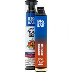 Big Bar Max Flow Duo Disposable - Energy Drink & Strawberry Peach Ice Tea