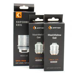 Geek Vape - SuperMesh Coils & MeshMellow - Replacement Coils - 1