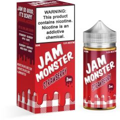 Jam Monster Liquids - Strawberry - 100ML
