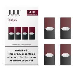 Juul Virginia Tobacco Pods (Pack of 4)
