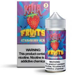 Killa Fruits - Strawberry Acai - 100ML