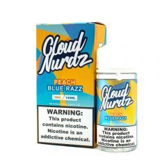 Cloud Nurdz - Peach Blue Razz - 100ML