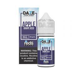 Reds Salt Series - Grape Iced - 7Daze - 1