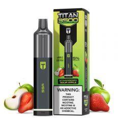 Titan 3500 Disposable - Strawberry Sour Apple