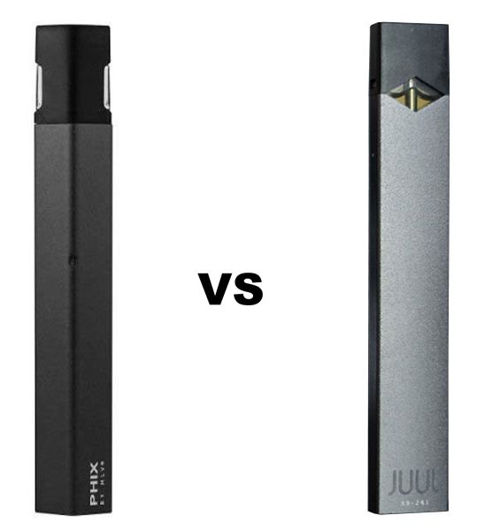 PHIX vs JUUL - Which should you choose?